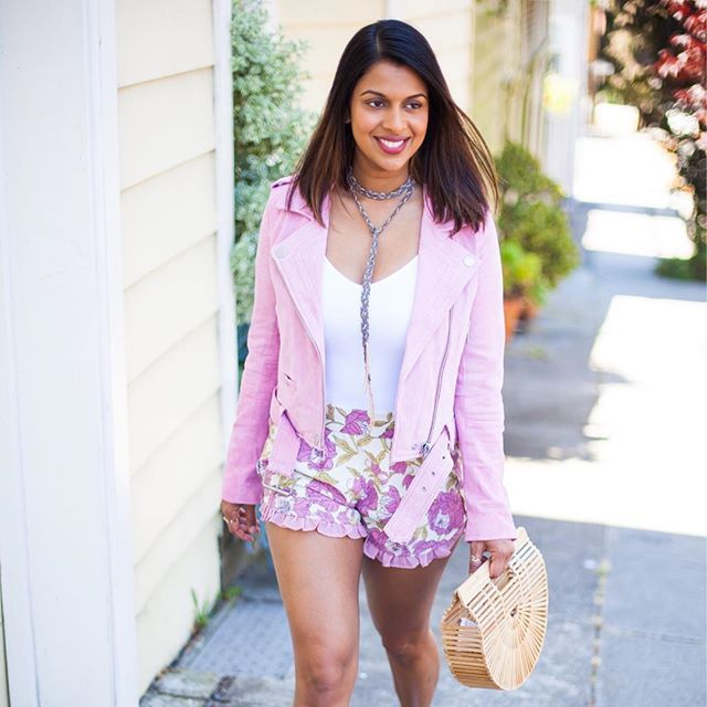 Are you ready for the @nordstrom half yearly sale? I'll be posted up on my laptop scouting all the things for summer. This jacket is also 40% off, so get it while you can! 💗 @liketoknow.it http://liketk.it/2rtrR #liketkit #nordstrom #sale