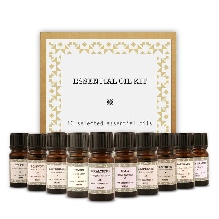 Essential Oil Kit  Our Essential Oil Kit contains 10 essential oils which are great to use in the sauna or for other purposes