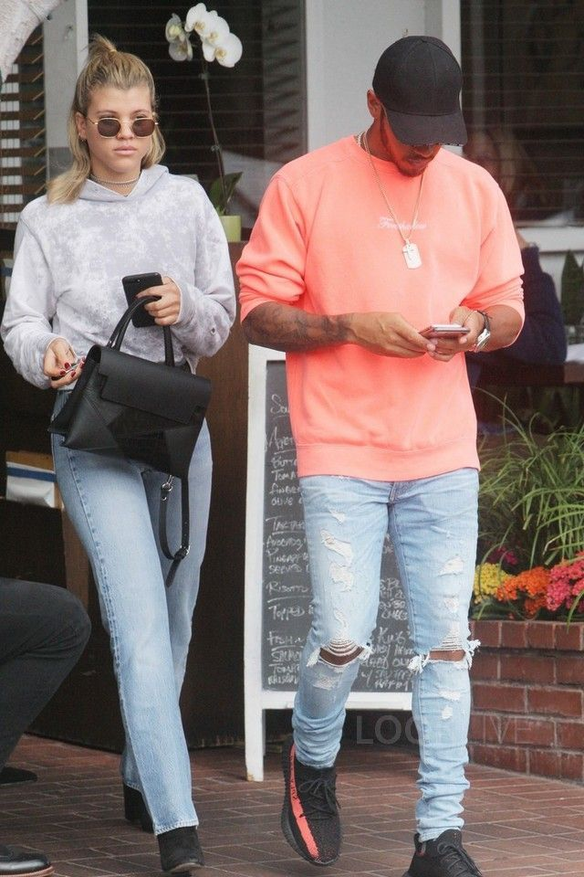392b431f Lewis Hamilton wearing Anti Social Social Club Foreshadow Sweatshirt, Adidas  Yeezy Boost 350 V2, Amiri Thrasher Jeans