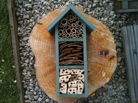 Bug House Outdoor Diy Projects Pinterest Gardens