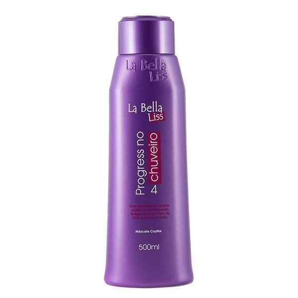 Chega de salão, com a Progressiva No Chuveiro da La Bella Liss você deixa seu cabelo impecável sem sair de casa! Progressiva No Chuveiro Original!