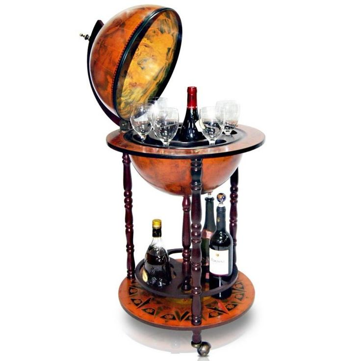 globe mini wine bar drinks cabinet beverages stand glasses bottles tray trolley in home furniture u0026 diy cookware dining u0026 bar bar u0026 wine accessories