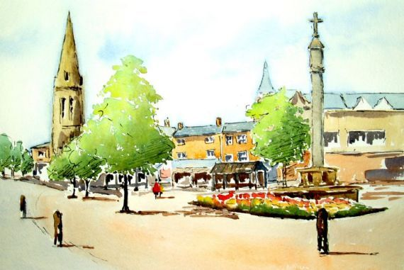 Market Harborough - Town Centre
