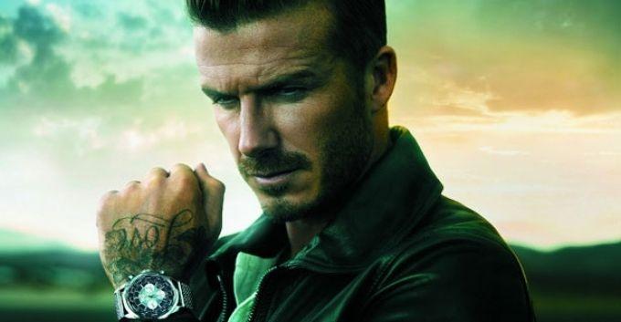 David Beckham, nueva imagen de los relojes Breitling [+VIDEO]