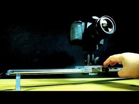 ▶ Best Cheap Camera Slider? - Glide Gear Video Slider Review - YouTube