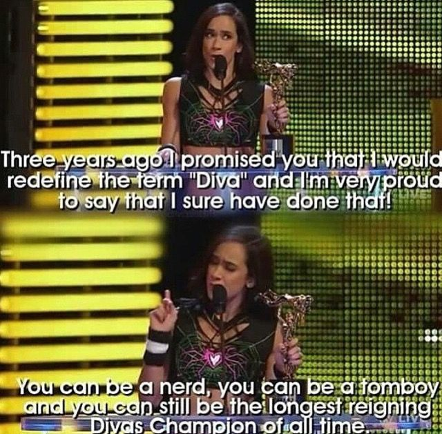 I'm a Tomboy & a MAAAAJJJJOOORRRR AJ Lee Geek, so you don't even understand how much this touched me!