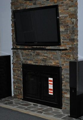 Non-combustible tiled mantel shelf - Ceramic Tile Advice ...