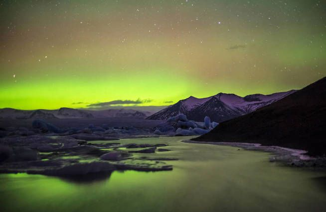 El lago islandés de nuestra colección (Foto: Andreüs Nieto Porras-Flickr-Creative Commons)