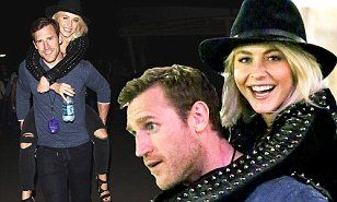 Julianne Hough gets a piggyback ride from boyfriend Brooks Laich | Daily Mail Online