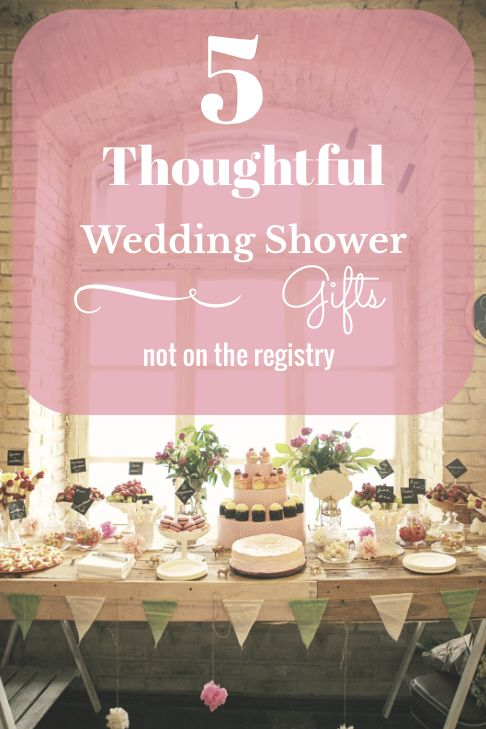 Best 25 thoughtful wedding gifts ideas on pinterest for Not registering for wedding