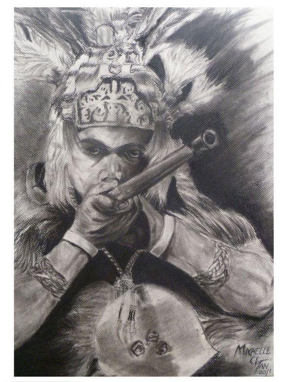 Iban Warrior by LordChirayoju.deviantart.com on @deviantART