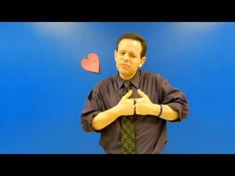 valentine's day asl signs
