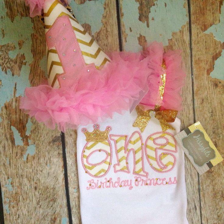 One Birthday Princess 1st Birthday by HissyfitsOKC on Etsy