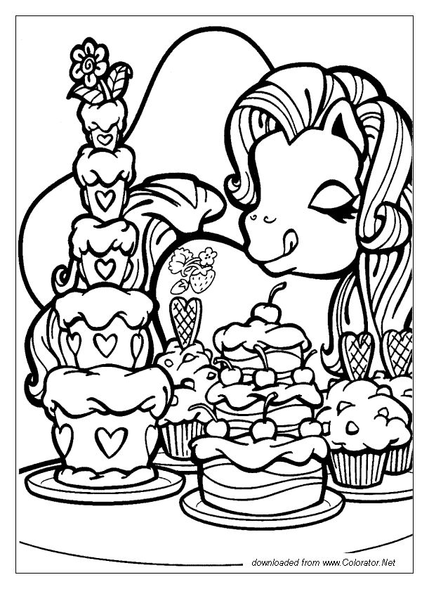 47 best My Little Pony images on Pinterest  Coloring pages