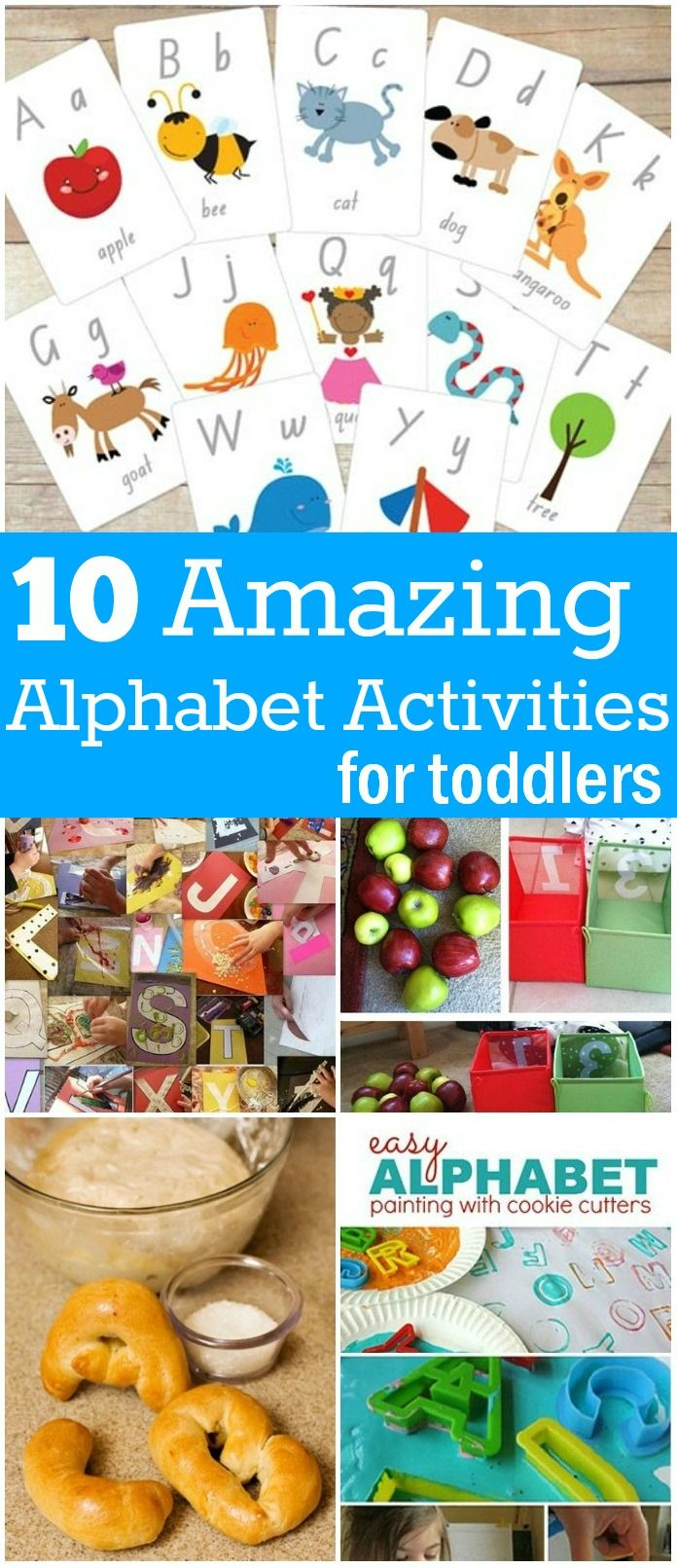 10 Interesting Alphabet Activities For Your Toddlers: Do you feel that learning should be interesting and fun-filled? Then mix education and entertainment! Try these simple alphabet games/activities and have a great fun with your toddlers