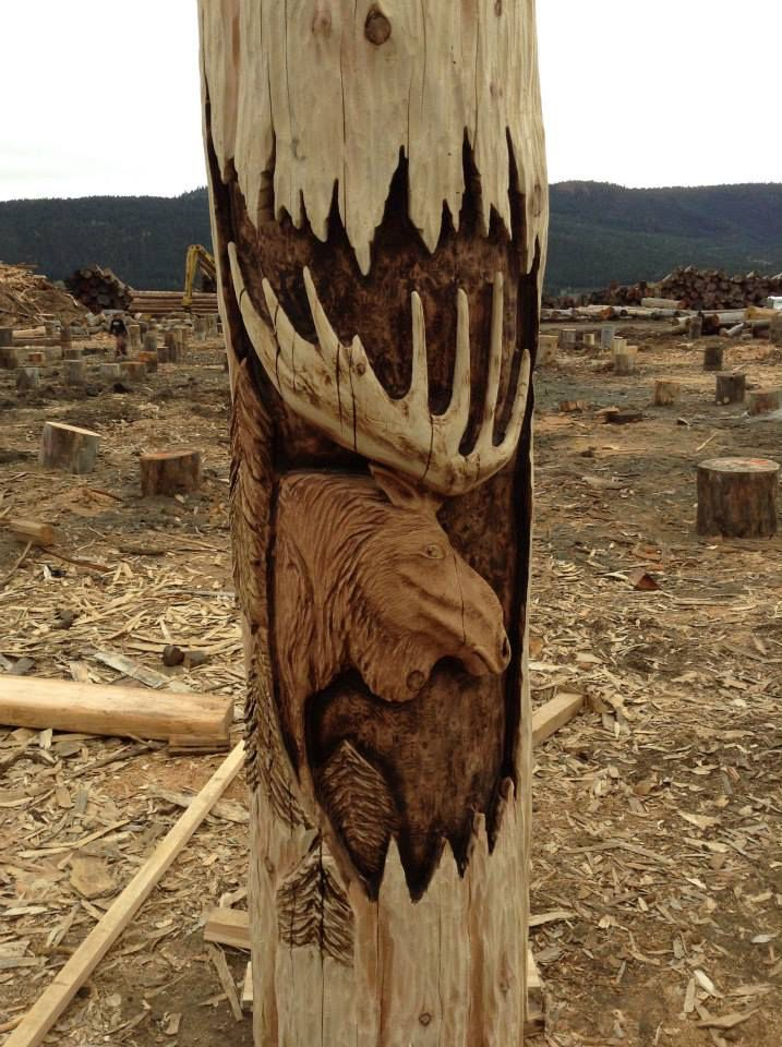 Best carver kings images on pinterest chainsaw