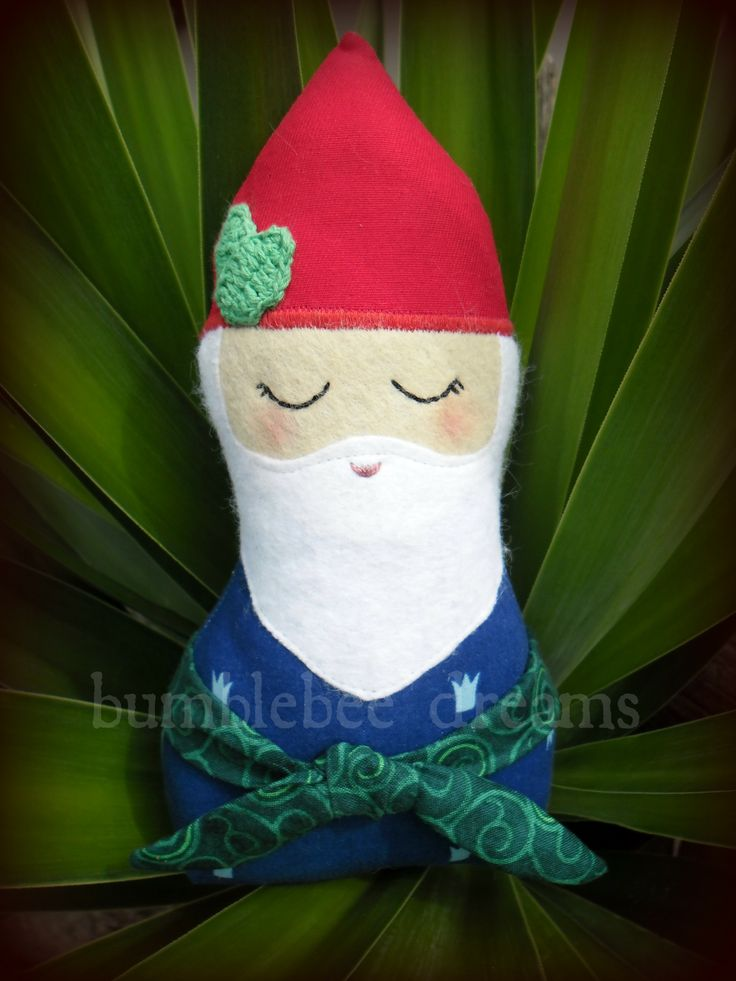 Handmade Gnome softie  https://www.facebook.com/bumblebeedreams
