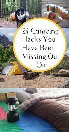 Best 25 Camping Hacks Ideas On Pinterest