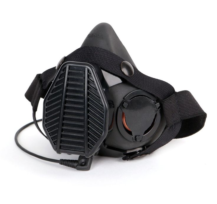 Ops-Core SPECIAL OPERATIONS TACTICAL RESPIRATOR (SOTR) - $291 - Offers at least 99.97% filtration efficiency against airborne particulates including Lead, Asbestos, lubricant mist, and explosive gunfire residue Non microphone or microphone version available, compatible with standard ground communications headsets to enable radio communications Seamlessly integrates with NVGs and other eye protection products, as well as over the ear hearing protection products.