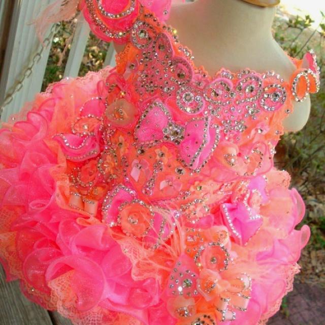 ADORABLE glitz pageant dress!!!