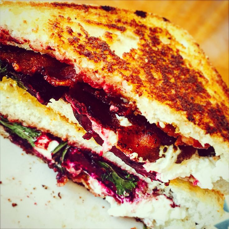 New gourmet sandwich recipe on the blog: The Purple Pig Sandwich #yegfood #yegfoodblog #foodblog