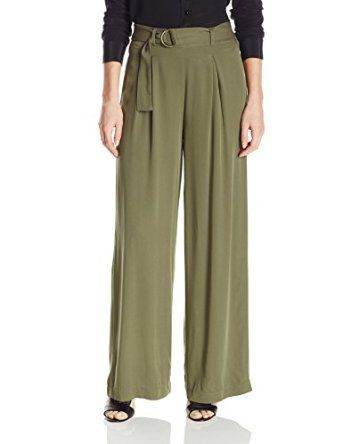 """Jessica Simpson Women's """"Kegan"""" Soft Pant Burnt Olive from $26.99 by Amazon BESTSELLERS"""