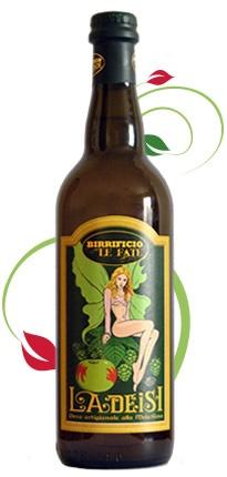 Birrificio Le Fate - Birra Ladeisi, Birra artigianale alla Mela Rosa - #Comunanza (AP) #birra #beer