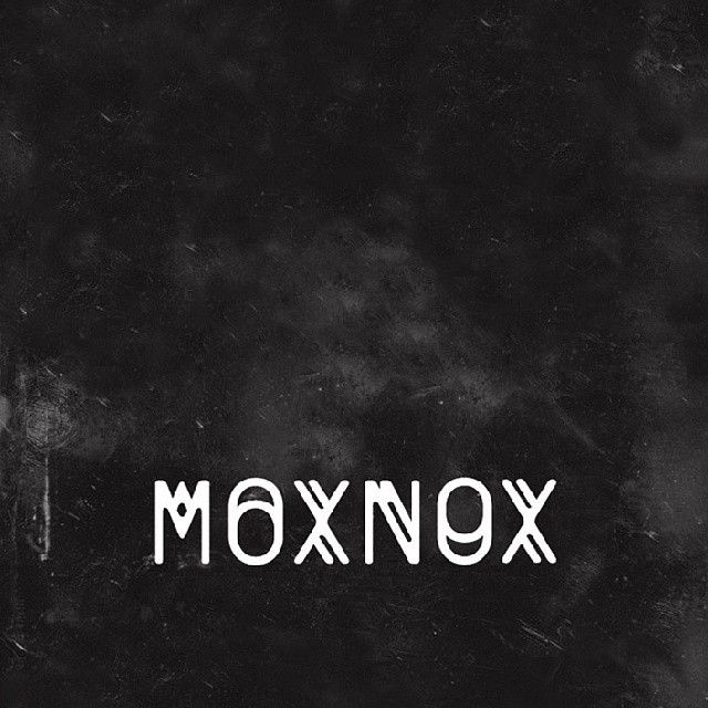 MOXNOX #graphics #graphic #design #graphicdesign #font #디자인 #logo #soyon