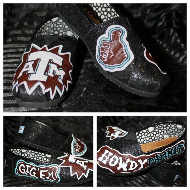 Texas A TOMS TOMSshoes TOMS Shoes OneforOne One for One StyleYourSole Style Your Sole