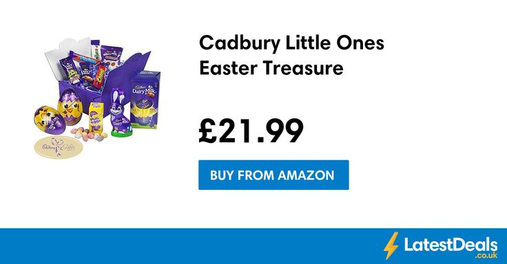 Cadbury Little Ones Easter Treasure, £21.99 at Amazon