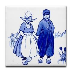 Art In The News: Delft Style, Blue and White Dutch Tiles and Gifts