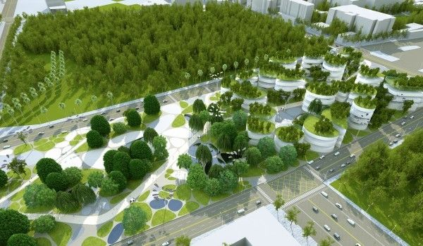 [ Maxthreads Architectural Design and Planning ] Tainan Main Station Area, Taiwan