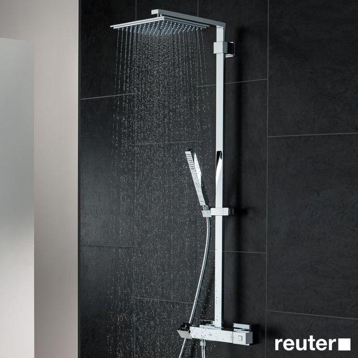 Grohe Euphoria Cube XXL System 230 Colonne de douche avec mitigeur thermostatique, montage mural - 26087000 | Reuter Onlineshop