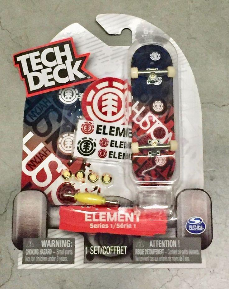 Tech Deck Element Skateboards Series One Rare Huston
