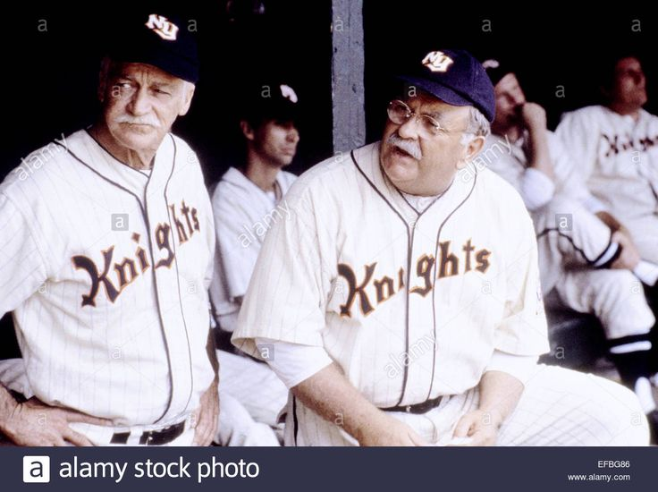 Richard Farnsworth & Wilford Brimley The Natural (1984 Stock Photo, Royalty Free Image: 78315558 - Alamy