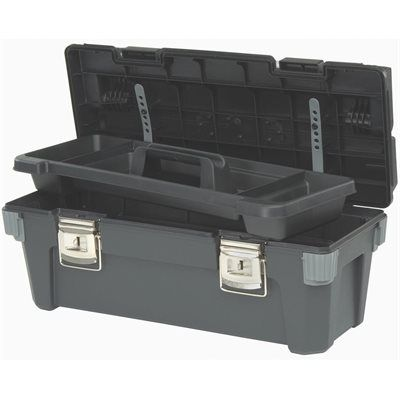 Stanley 20-in Professional Tool Box with Tray