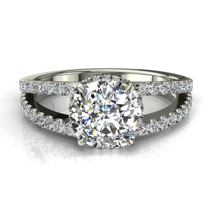 Extrêmement Les 25 meilleures idées de la catégorie Carat diamant sur  HU54