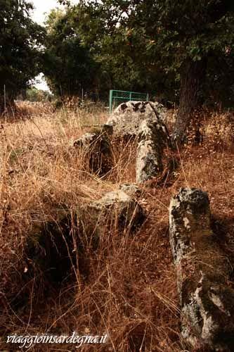 fonni, tomba di giganti santu mikeli
