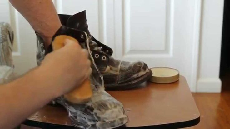 Red Wing Shoes - Iron Ranger Boots - Clean and Polish 1 year old