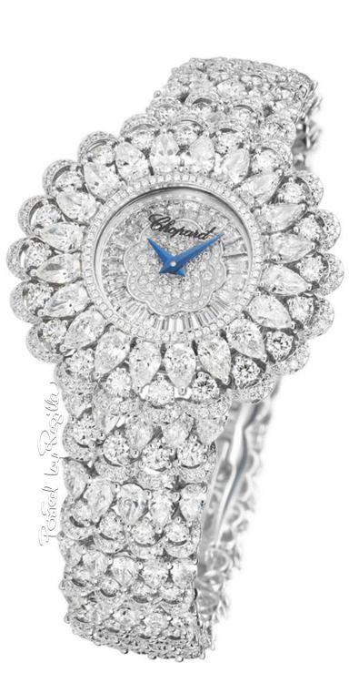 Rosamaria G Frangini | High Whatch Jewellery | Chopard Diamond* Timepiece