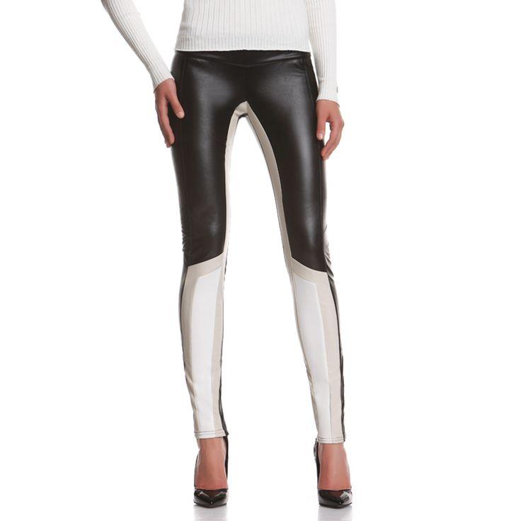New Viper!  http://shop.mangano.com/it/new-in/16878-pantolone-viper-nero-offwhite.html