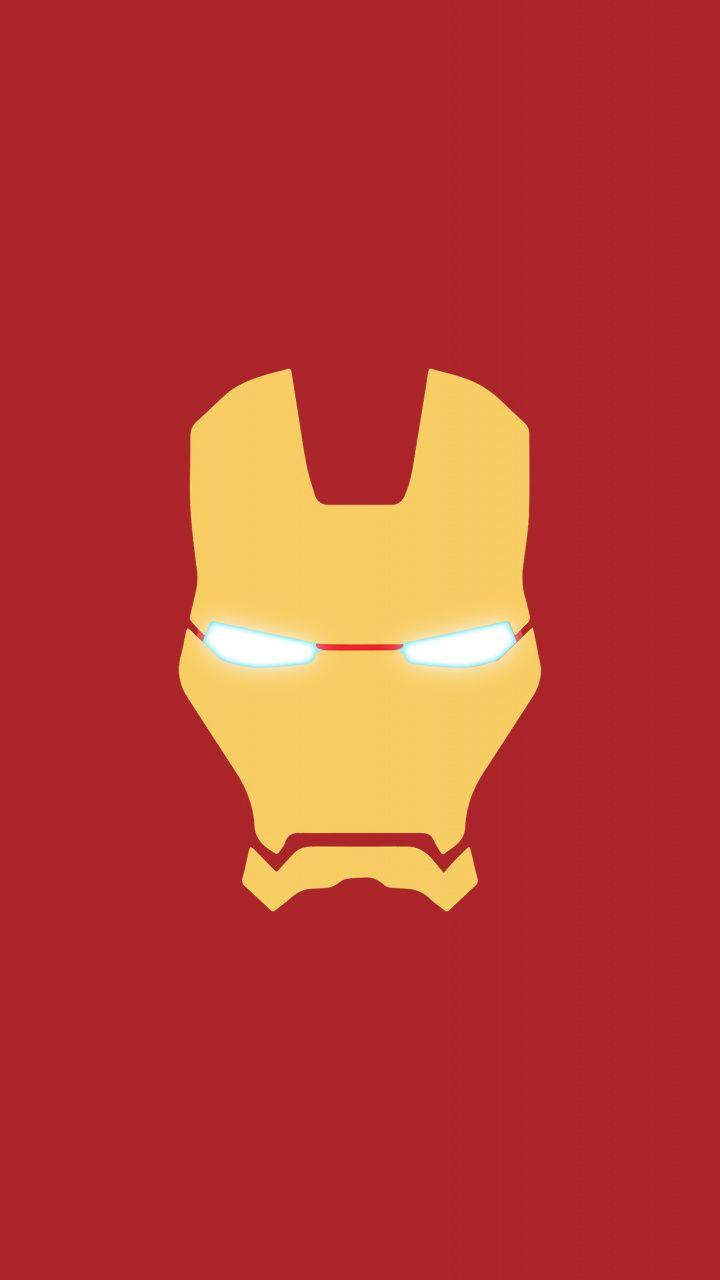 Iron Man Mask Minimal 720x1280 Wallpaper Iron Man Art Iron Man Wallpaper Marvel Iron Man