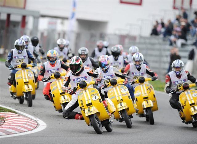 Vespa Race Polini Italian Cup 2011