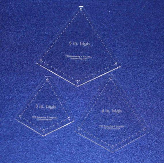 A-5 Mandolin Acrylic Template Set