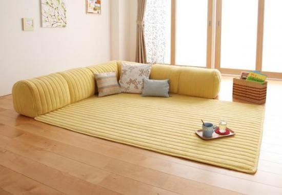 クッション付き・プレイマット 【joy-to】ジョイート - これいいね!と思える家具や寝具「これEね in the Room」