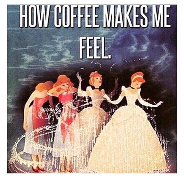 Gotta love the energy that coffee brings! #foodforthought