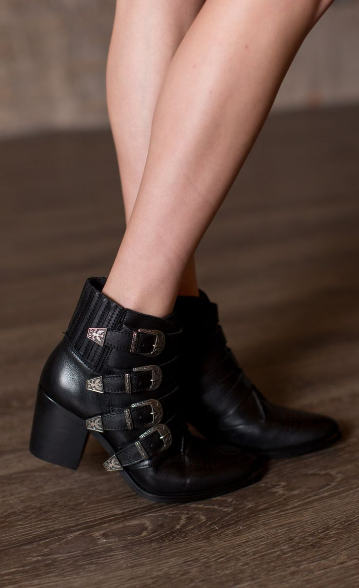 Make a statement with the Steve Madden Prairie Bootie from Cheeky Peach  Boutique. Perfect to