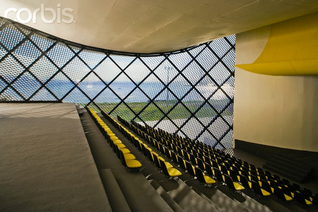 Teatro Popular De Niteroi Interior Brazil Architect