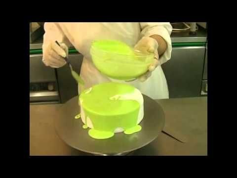 How to apply Mirror Icing Glaze