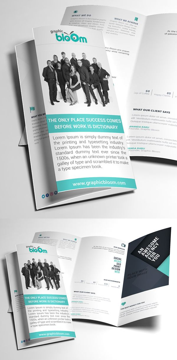 49 best Brochures images on Pinterest Flyers, Templates and - free tri fold brochure templates word